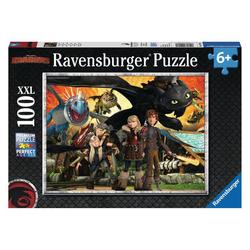 Ravensburger Puzzle Dragons: Drachenfreunde, 100 Puzzleteile