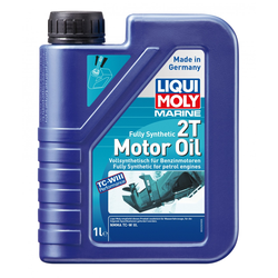 Liqui Moly Marine 2-Takt Motoröl Fully Synthetic 2T 1 l