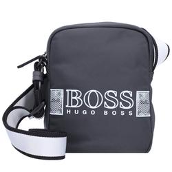 Boss Pixel Umhängetasche 16 cm dark grey