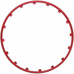 Rim Rimgz 63192 Alu-Felgenschutz 17 Zoll, Rot, 4-Teilig, Anzahl 4
