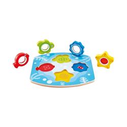 Hape Steckpuzzle Meeres-Suchpuzzle, Puzzleteile