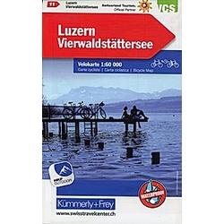 Luzern  Vierwaldstättersee Velokarte Nr. 11 - Buch
