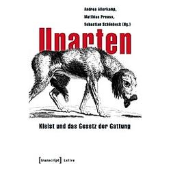 Unarten - Buch