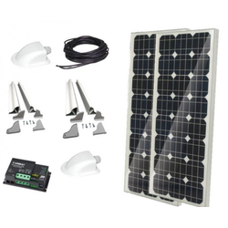 Solaranlage Carbest 2 x 100 Watt CB-200 Set