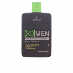 3D MEN anti dandruff shampoo 250 ml