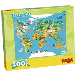 Puzzle Weltkarte. 100 Teile XXL