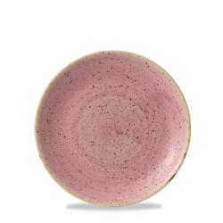 12 x Teller flach coup 16,5cm STONECAST petal pink