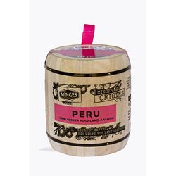 Minges Kaffeerarität Peru Hochland 250g Holzfass