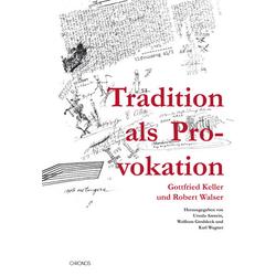 Tradition als Provokation: Buch von Karl Wagner
