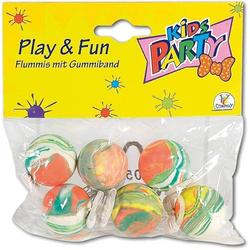 Toy Fun Flummi mit Gummiband, 25 mm, 6 Stück 86115280