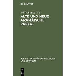 Alte und neue aramäische Papyri als Buch von
