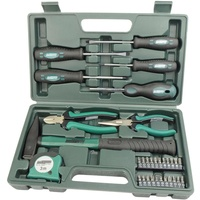 Brüder Mannesmann Werkzeuge Mannesmann 31-teiliger Werkzeugsatz, 31-tlg. grün
