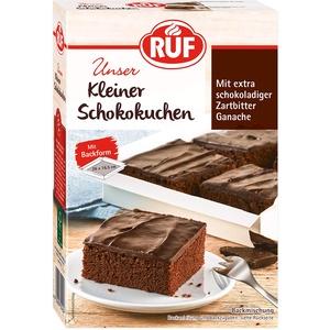 RUF Kleiner Schoko-Kuchen mit Zartbitter-Ganache inklusiv Backform, 270 g