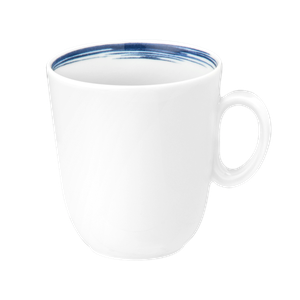 Paso Becher mit Henkel 0,34 l Blue Brush