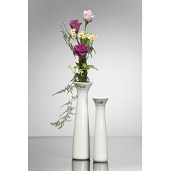Porzellanvase Blumenvase Sandra Rich Serie CLASSY Porzellanweiß 20cm