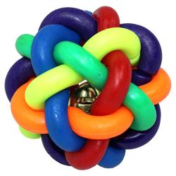 Pettimania Knotenball TPR, Durchmesser: 6,0 cm / Länge Griff 15,5 cm