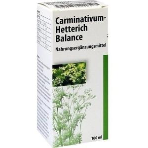 Carminativum Hetterich Balance Tropfen