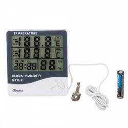 Wetterstation Digital Thermometer Hygrometer WHITE LINE Bradas 8649