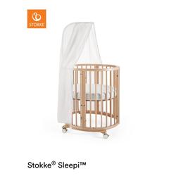 STOKKE® Sleepi™ Mini natur inkl. Himmel und Matratze