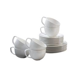Villeroy & Boch Kaffeeservice Neo white 18-teilig