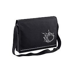 Mapac Black Music Messenger Bag