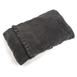 Smart Pet Snuggle Puppy Fleece Pocket Bed Grey