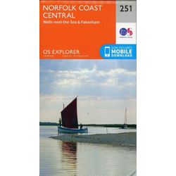 Norfolk Coast Central1 : 25 000
