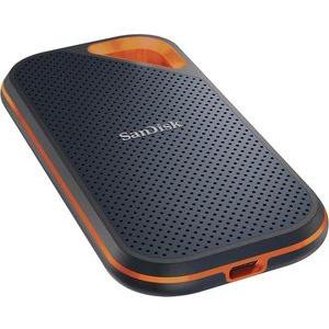 SanDisk Festplatte Extreme Pro Portable SSD, 1,8 Zoll, extern, USB 3.1, schwarz, 2TB SSD