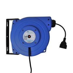 ProPlus 580786 automatische Kabeltrommel mit 15 Meter Kabel