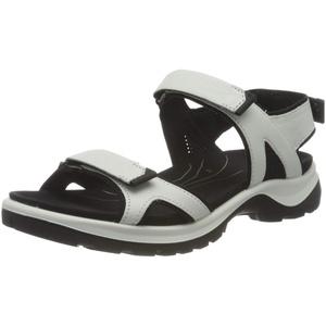 ECCO Damen Offroad Flat Sandal, weiß(White), 39 EU