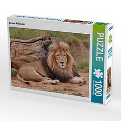 Löwen Männchen Lege-Größe 64 x 48 cm Foto-Puzzle Bild von Thula Puzzle