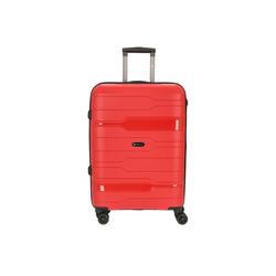 CHECK.IN® Trolley Memphis 4-Rollen-Trolley 67 cm, 4 Rollen orange