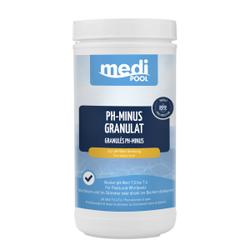 mediPOOL pH-Minus Granulat, Granulat zur Senkung des pH-Wertes, 1,5 kg - Dose