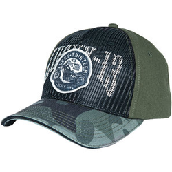 lucky 13 Black Sin Trucker Base-Cap