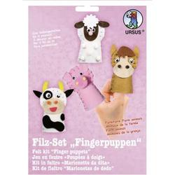 Filz-Set Fingerpuppen Farmtiere