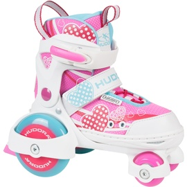 Hudora My First Quad Girl pink/weiß, 30-33