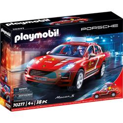 Playmobil Porsche Macan S Feuerwehr, Playmobil
