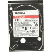 Toshiba HDWL120UZSVA 2 TB L200 (2,5 Zoll) 9,5 mm Mobile Festplatte