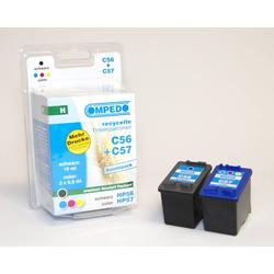 Druckerpatrone für HP 57 colour