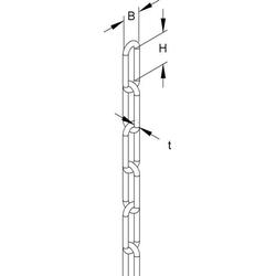 Niedax Gliederkette KF-4