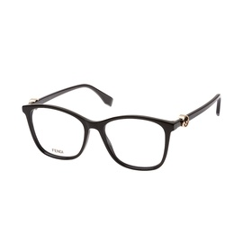 FENDI Fendi Damen Brille » FF 0305«, schwarz, 807 - schwarz
