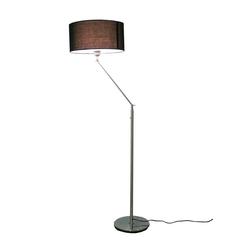 Kiom Stehlampe Kaja FL mit schwarzem Lampenschirm 164 cm E-27