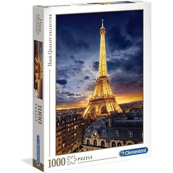 Clementoni® Steckpuzzle Puzzle 39514 - Eiffelturm (1000 Teile), 1000 Puzzleteile