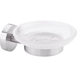 Tesa MOON 40310-00000-00 Seifenschale Silber, Weiß (satiniert)