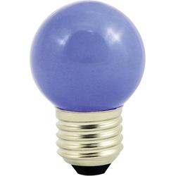 LightMe LED E27 Tropfenform 1W Blau (Ø x L) 45mm x 70mm 1St.