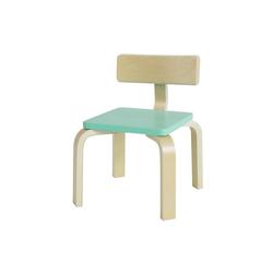 SoBuy Stuhl KMB29 Kinderstuhl mit Rückenlehne Stuhl für Kinder blau