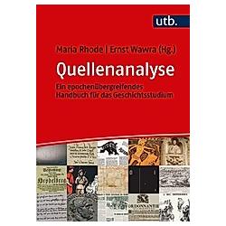 Quellenanalyse - Buch