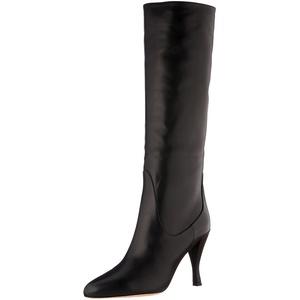 BOSS Damen Ada LongBoot90-C Overknee-Stiefel, Black1, 38.5 EU