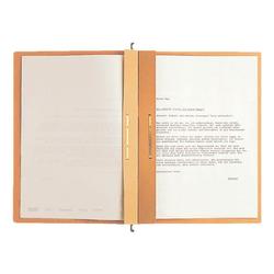 Zweifalz-Hängehefter »Alpha 1987« braun, Leitz, 34.8x26.8 cm