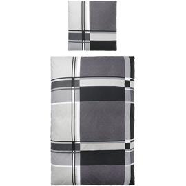 MY HOME Nina Biber grau (135x200+80x80cm)